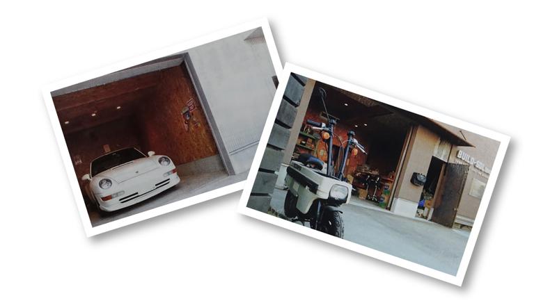 ビルドエスディーエルのガレージイメージ